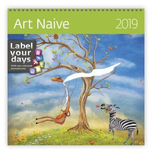 Muurkalender 30x60 Art Naive