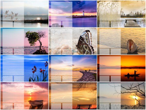 Bureaukalender 2019 Serenity Foto's
