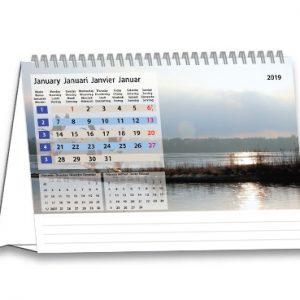 Bureaukalender 2019 Serenity Januari