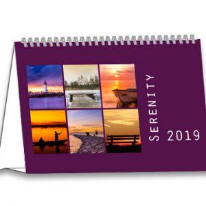 Bureaukalender 2019 Serenity