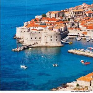 Muurkalender Mediterranean 2020 augustus