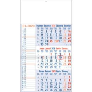 3-maandkalender memo 2020
