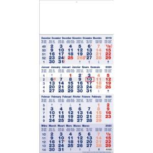 4 maandkalender 2020