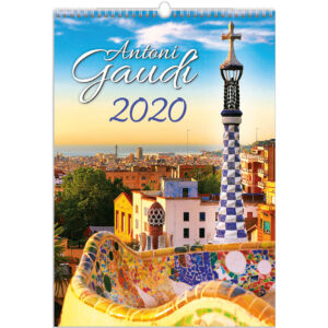 Kalender Antoni Gaudi 2020