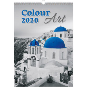 Kalender Colour Art 2020