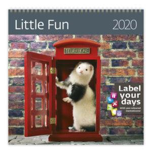 Muurkalender Little Fun 2020