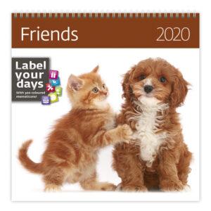Muurkalender Friends 2020