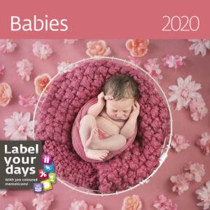 Muurkalender Babies 2020
