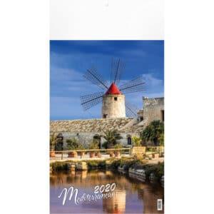 Muurkalender Mediterranean 2020