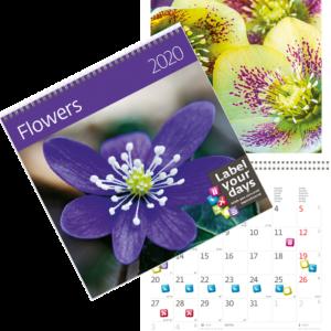 Muurkalender Flowers 2020