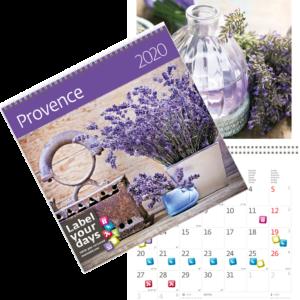 Muurkalender Provence 2020