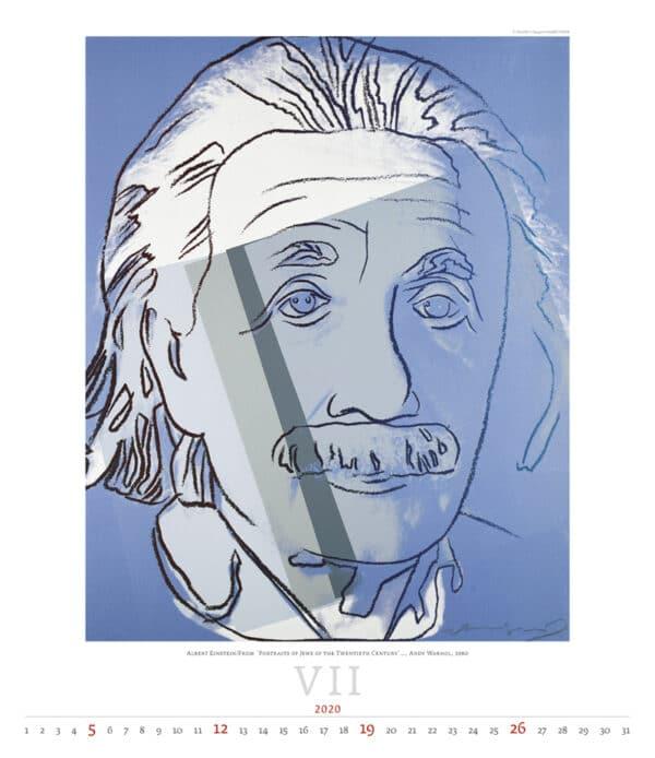 Kalender Andy Warhol 2020 juli