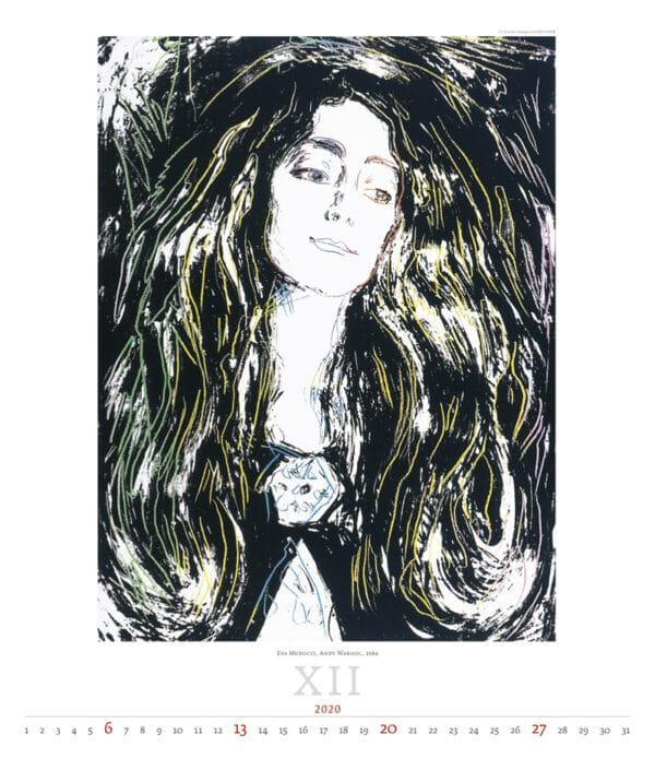 Kalender Andy Warhol 2020 december