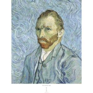 Kalender Vincent Van Gogh 2020 januari