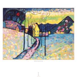 Kalender Wassily Kandinsky 2020 januari