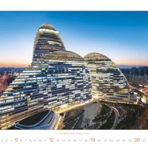 Kalender Modern Architecture 2020 januari