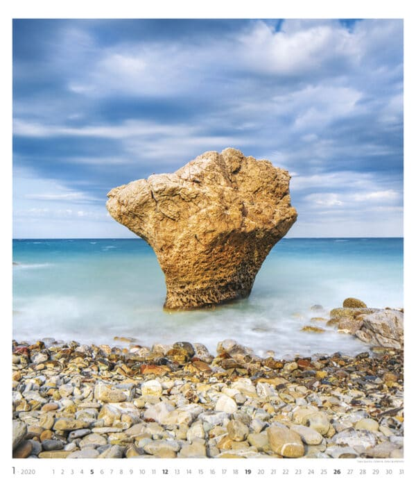 Muurkalender Geo Art 2020 januari