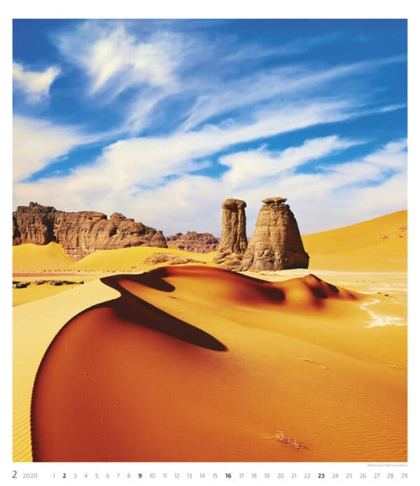Muurkalender Geo Art 2020 februari