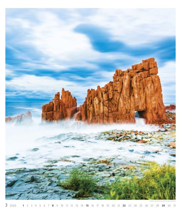 Muurkalender Geo Art 2020 maart
