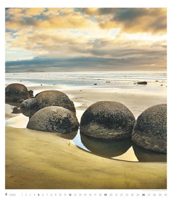 Muurkalender Geo Art 2020 april