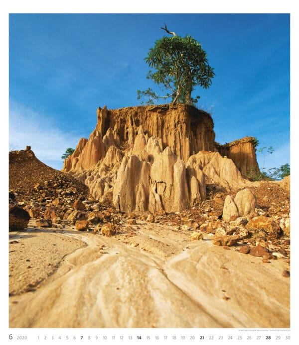 Muurkalender Geo Art 2020 juni