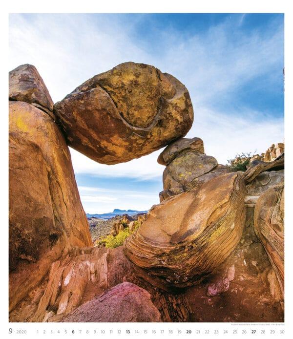 Muurkalender Geo Art 2020 september