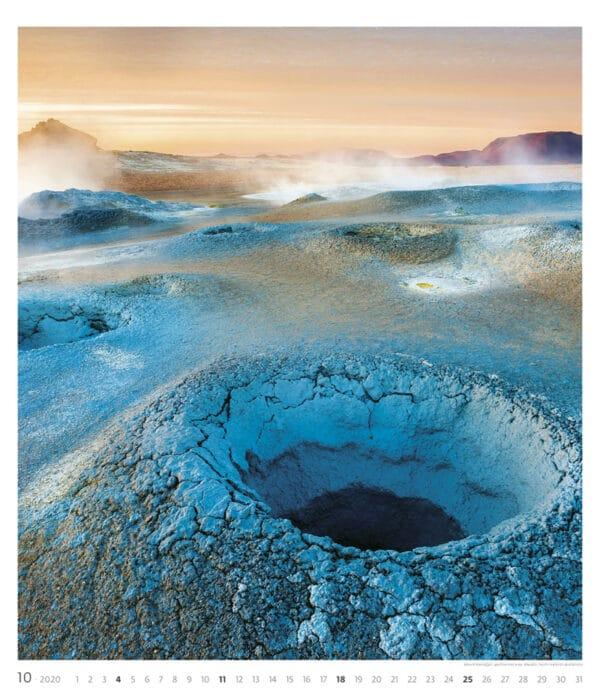Muurkalender Geo Art 2020 oktober