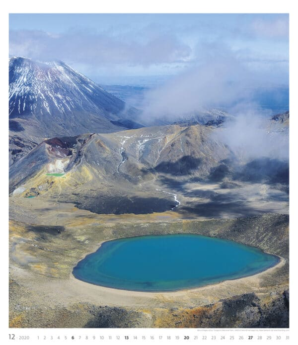 Muurkalender Geo Art 2020 december