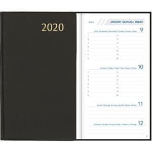 Visuplan 2020 Seta Zwart