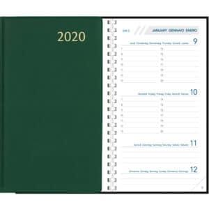 Visuplan 2020 Spiraal Groen