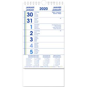 Weekkalender 2020