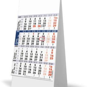Bureaukalender 4-maand 2020