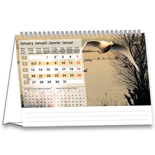 Kantoorkalender Serenity 2020 januari