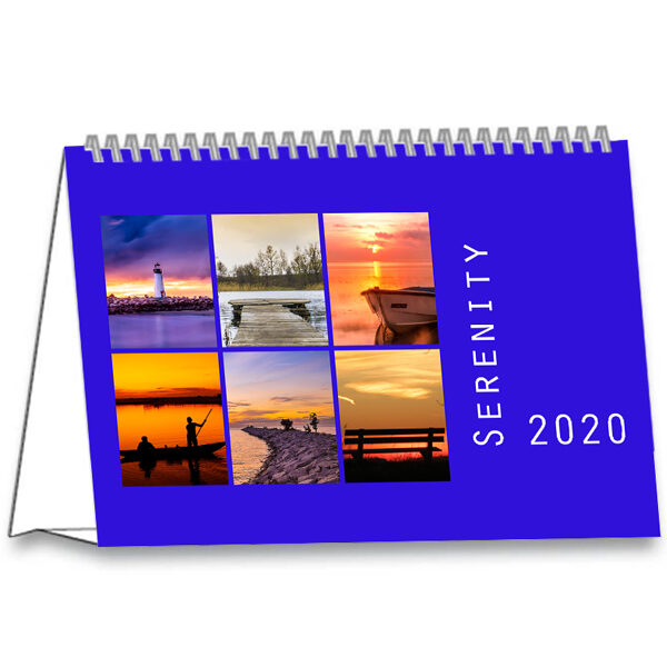 Kantoorkalender Serenity 2020