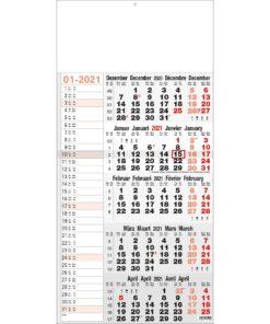 5-maandkalender memo 2021