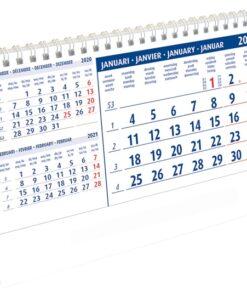 Kantoorkalender Belgium 2021