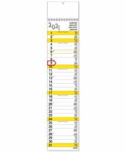 Strookkalender XL 2021