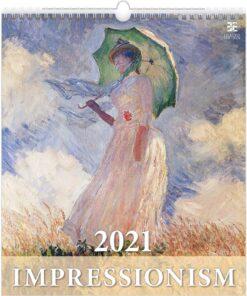 Kunstkalender Impressionism 2021