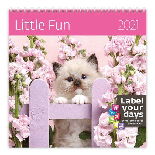 Muurkalender 30x30 Little Fun 2021