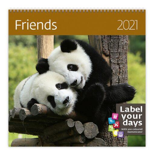 Muurkalender 30x30 Friends 2021