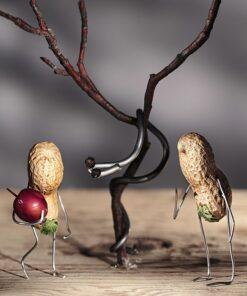 Muurkalender 30x30 Funny Nuts 2021 Oktober