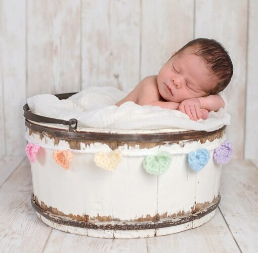 Muurkalender 30x30 Babies 2021 Februari