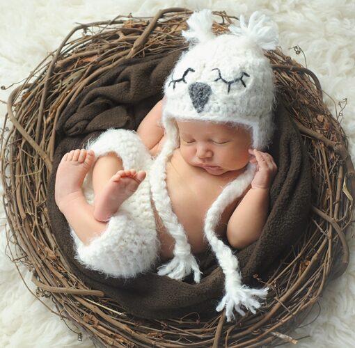 Muurkalender 30x30 Babies 2021 April