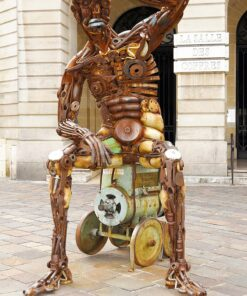 Muurkalender Modern Statues 2021 Januar