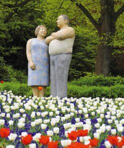 Muurkalender Modern Statues 2021 April