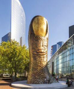 Muurkalender Modern Statues 2021 November