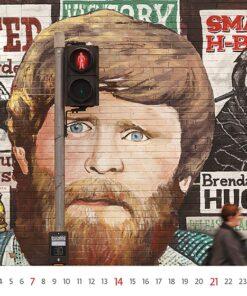 Muurkalender Street Art 2021 Februari