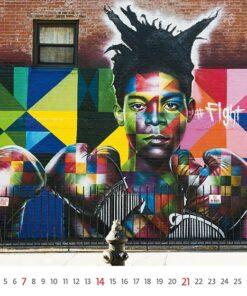 Muurkalender Street Art 2021 Maart
