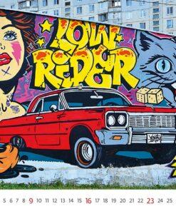 Muurkalender Street Art 2021 Mei