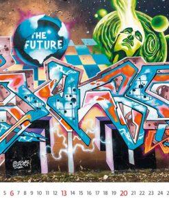 Muurkalender Street Art 2021 Juni